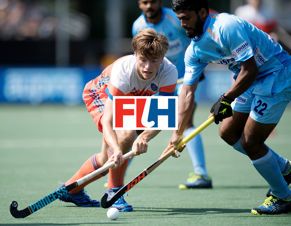 BREDA - Rabobank Hockey Champions Trophy<br /> The Netherlands - India<br /> Photo: Jorrit Croon.<br /> COPYRIGHT WORLDSPORTPICS FRANK UIJLENBROEK