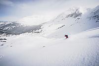 Jacki Arévalo finding balance in the San Juan Mountains, Colorado.