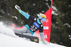 Tim Mastnak (SLO) competes during Qualification Run of Men's Parallel Giant Slalom at FIS Snowboard World Cup Rogla 2016, on January 23, 2016 in Course Jasa, Rogla, Slovenia. Photo by Ziga Zupan / Sportida