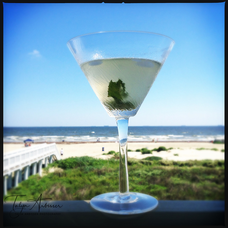 Beachside mojito - Galveston, Texas