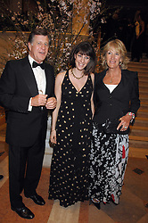 SIMON & ANNABEL ELLIOT and their daughter ALICE at the Feast of Albion a sumptious locally-sourced banquet in aid of The Soil Association held at The Guildhall, City of London on 12th March 2008.<br />