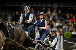 Exell Boyd, AUS, Bajnok, Rocket 123, Demi, Barny 68<br /> JIM Maastricht 2019<br /> FEI Driving World Cup™ 2019/20 <br /> © Hippo Foto - Dirk Caremans<br />  09/11/2019