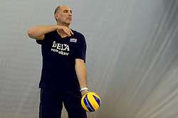 30-09-2014 ITA: World Championship Volleyball Training Nederland, Verona<br /> Ass. Coach Ron Zwerver