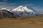 Mt. McKinley (Denali), from Stony Point, Denali Natonal Park, Alaska. Digital original  ©Robin Brandt  #2007_4661