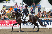Sabine Schut Kery - Sanceo<br /> FEI World Breeding Dressage Championships for Young Horses 2012<br /> © DigiShots