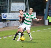 Dundee&rsquo;s Cammy Kerr and Celtic's Gary Mackay-Steven  - Dundee v Celtic, Ladbrokes Scottish Premiership at Dens Park<br />  <br />  - &copy; David Young - www.davidyoungphoto.co.uk - email: davidyoungphoto@gmail.com