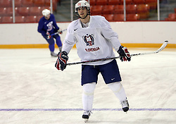 Marjan Manfreda at morning practice of Slovenian national team before match against Canada at Hockey IIHF WC 2008 in Halifax,  on May 02, 2008 in Metro Center, Halifax, Canada.  (Photo by Vid Ponikvar / Sportal Images)