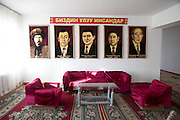 """""""Our Native Sons"""" - Batken Province government building, 2011"""
