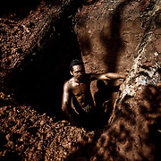 Digging for gold, Amazzonia, Brazil.