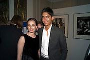 Kristen Scott Thomas;  Dev Patel, The London Critics' Circle Film Awards 2009 in aid of the NSNCC. Grosvenor House Hotel . Park Lane. London. 4 February 2009