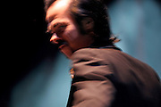 Australian singer and musician Nick Cave performs in the Prague Congress Center.