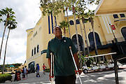 Monday, July 8, 2013 REGGIE WILLIAMS : Former Cincinnati Bengals player and Cincinnati City Councilman Reggie Williams goes back to his old stomping grounds at the ESPN Wide World of Sports Complex on the Walt Disney property. He helped build the complex from the ground up and was one of Disney's first African American executives.  He even had arguments on the yellow color of the buildings. The Enquirer/Jeff Swinger
