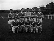 05/11/1960<br /> 11/05/1960<br /> 05 November 1960<br /> Soccer, League of Ireland: Cork Celtic v St Patrick's Athletic at Richmond Park, Dublin. The St Patrick's Athletic team.