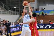 Trento 27 Luglio 2012 - Trentino Basket Cup Italia Montenegro<br /> Nella Foto: LUIGI DATOME<br /> Foto Ciamillo