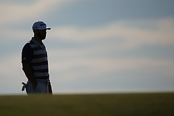 June 16, 2018 - Southampton, NY, USA - Dustin Johnson on the 10th fairway during the third round of the 2018 U.S. Open at Shinnecock Hills Country Club in Southampton, N.Y., on Saturday, June 16, 2018. (Credit Image: © Brian Ciancio/TNS via ZUMA Wire)