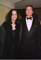 AMANDA, LADY HARLECH and MR HUGO DE FERRANTI, at a dinner in London on 1st December 1998.MMN 21