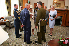 Wellington-Royals, Prince Charles receives new Military Warrant