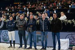Frederic Vernaet, Bert Prouve, Ludo Philippaerts, Niels Bruynseels, Marc Van Dijck<br /> Vlaanderens Kerstjumping - Memorial Eric Wauters - Mechelen 2018<br /> © Hippo Foto - Dirk Caremans<br /> 26/12/2018
