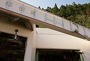 Photo shows the entrance to the post office at Minami Sanriku, Japan on Tuesday 24 May 2011. .Photographer: Robert Gilhooly