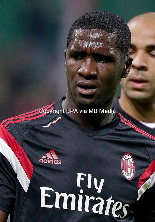 Italian League Serie A -2016-2017 / <br /> ( AC Milan ) - <br /> Cristian Eduardo Zapata Valencia &quot; Cristian Zapata &quot;