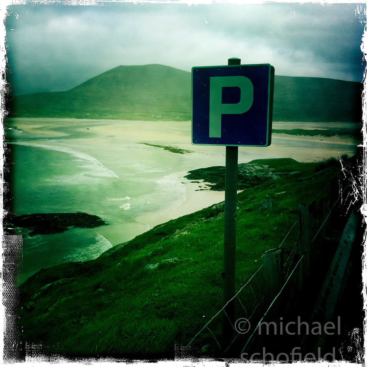 Seilebost Beach..Hipstamatic images taken on an Apple iPhone..©Michael Schofield.