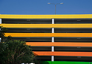 Colorful Parking Garage