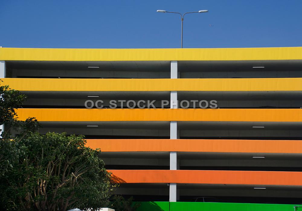 Colorful Parking Garage