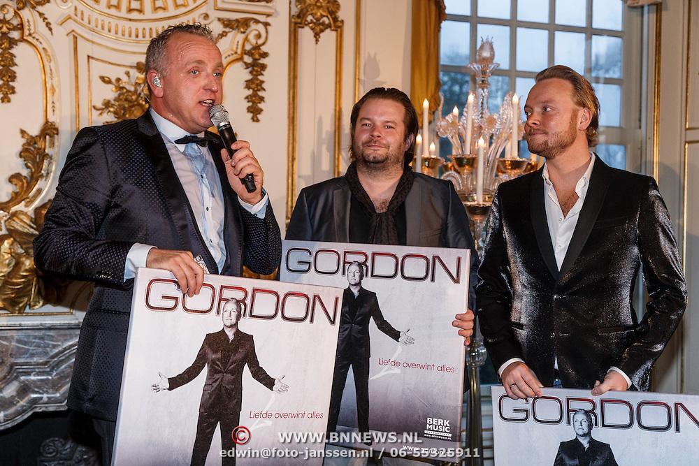 """NLD/Zeist/20131103 - CD presentatie Gordon """" Liefde overwint alles """","""