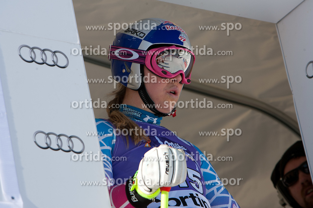 12.01.2012, Pista Olympia delle Tofane, Cortina, ITA, FIS Weltcup Ski Alpin, Damen, Abfahrt, 1. Training, im Bild Lindsey Vonn (USA) // Lindsey Vonn of USA during ladies downhill 1st training of FIS Ski Alpine World Cup at 'Pista Olympia delle Tofane' course in Cortina, Italy on 2012/01/12. EXPA Pictures © 2012, PhotoCredit: EXPA/ Johann Groder