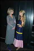 NICOLA FORNBY; LAURA BAILEY, Party to celebrate Vanity Fair's very British Hollywood issue. Hosted by Vanity Fair and Working Title. Beaufort Bar, Savoy Hotel. London. 6 Feb 2015