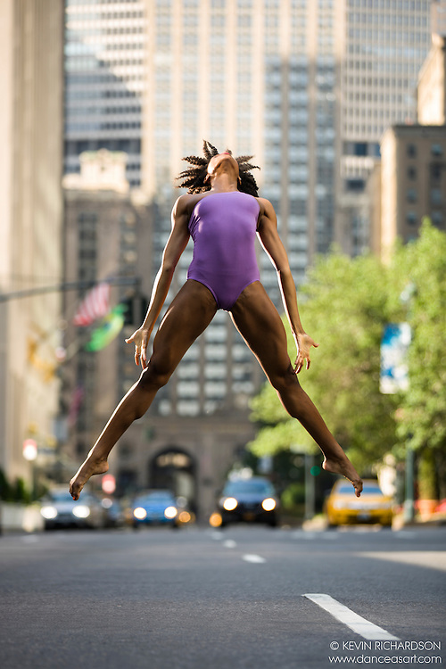 East 52nd Street: Streets of New York City Dance As Art Photography Project with Paige Fraser