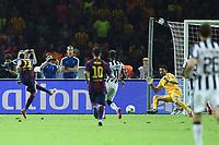 gol Neymar Goal celebration <br /> Berlino 06-06-2015 OlympiaStadion  <br /> Juventus Barcelona - Juventus Barcellona <br /> Finale Final Champions League 2014/2015 <br /> Foto Matteo Gribaudi/Image Sport/Insidefoto