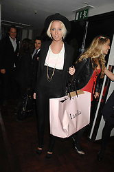 The HON.SOPHIA HESKETH at a party to celebrate the launch of the Kova & T fashion label and to re-launch the Harvey Nichols Fifth Floor Bar, held at harvey Nichols, Knightsbridge, London on 22nd November 2007.<br />