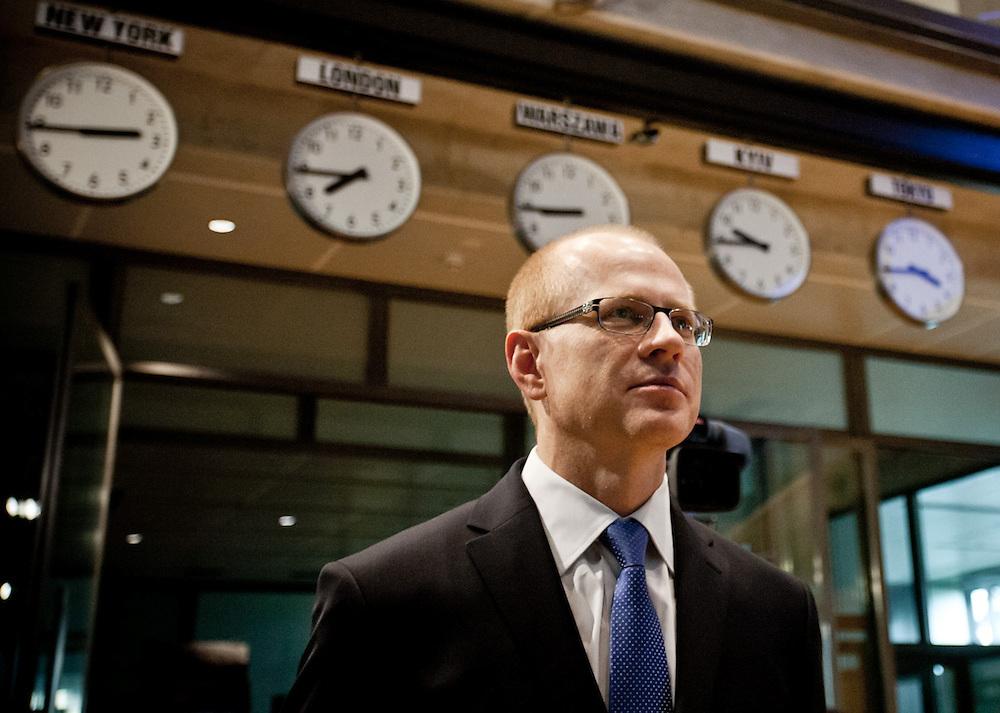 Ludwik Sobolewski - CEO of Warsaw stock exchange.