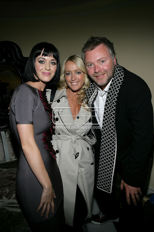 9th February 2009, Beverly Hills, California. Kyle and Jackie O with singer Katy Perry at Bondi Blonde's Style Mansion International Party, which was hosted by singer Katy Perry. PHOTO © JOHN CHAPPLE / REBEL IMAGES.tel: +1-310-570-910