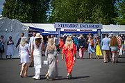 Henley on Thames, England, United Kingdom, 5th July 2019, Henley Royal Regatta, Entrance to the Stewards Enclosure,   [© Peter SPURRIER/Intersport Image]<br /> <br /> 13:55:00 1919 - 2019, Royal Henley Peace Regatta Centenary,