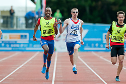 ADOLPH Timothee, Guide FELIP Cedric, 2014 IPC European Athletics Championships, Swansea, Wales, United Kingdom