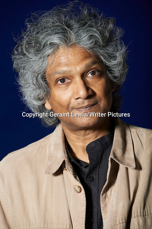 Romesh Guneskera, Sri Lankan writer of The Prisoner of Paradise. Pictured at the Edinburgh International Book Festival. Taken 17thAugust 2012<br /> <br /> Credit Geraint Lewis/Writer Pictures