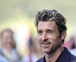 19.07.2017, Schloss Pichlarn, Aigen im Ennstal, AUT, Ennstal-Classic 2017, Welcome Evening, im Bild Schauspieler Patrick Dempsey, bekannt als McDreamy in der TV-Serie Grey's Anatomy // actor Patrick Dempsey during the Ennstal-Classic 2017 in Pichlarn Castle, Aigen im Ennstal, Austria on 2017/07/19. EXPA Pictures © 2017, PhotoCredit: EXPA / Martin Huber