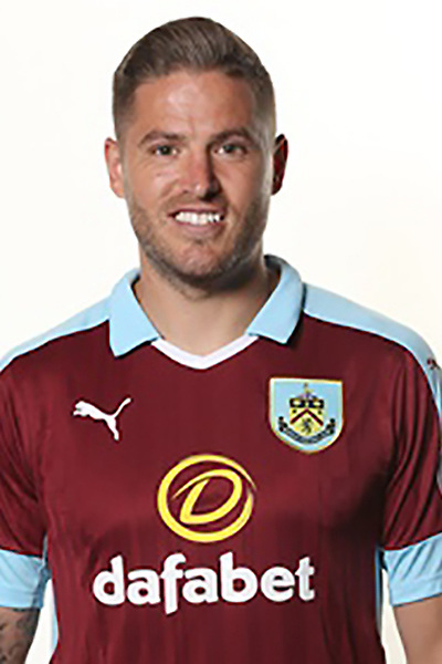 BURNLEY, ENGLAND - JULY 20:  Michael Kightly of Burnley poses during the Premier League portrait session on July 20, 2016 in Burnley, England. (Photo by Barrington Coombs/Getty Images for Premier League)
