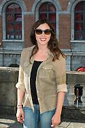 """Olivia Ruiz lors du Photocall du jury """"Court Métrage"""" du Festival du Film Francophone, Namur le 03 octobre 2014 Belgique"""