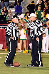 18 October 2013:  Mahomet-Seymour Bulldogs at University High Pioneers Football in Normal Illinois