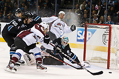20111215 - Colorado Avalanche at San Jose Sharks (NHL Hockey)