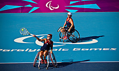 LONDON 2012 PARALYMPICS WHEELCHAIR TENNIS