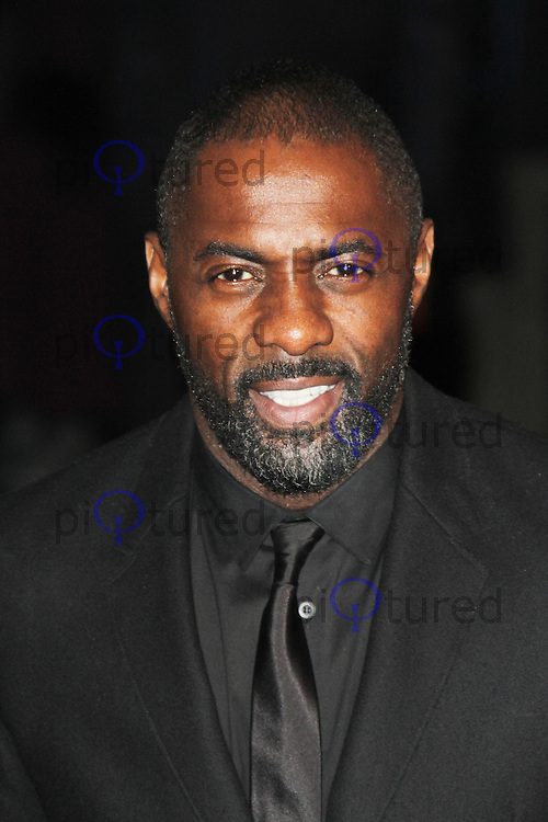 LONDON - DECEMBER 05: Idris Elba attended the World Film Premiere of 'Les Miserables' at the Empire Cinema, Leicester Square, London, UK. December 05, 2012. (Photo by Richard Goldschmidt)
