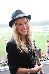 KATE FREUD at the Hennessy Gold Cup 2010 at Newbury Racecourse, Berkshire on 27th November 2010.