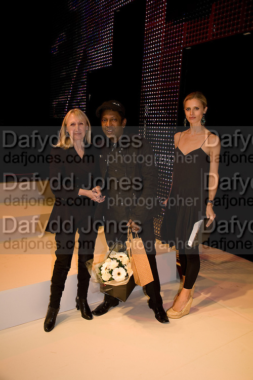 ALFRED DERSAUD JNR RECEIVING HIS AWARD, FashionExpo, fashion show and Awards. Business Design Centre, Upper st. London. 19 November 2008.  *** Local Caption *** -DO NOT ARCHIVE -Copyright Photograph by Dafydd Jones. 248 Clapham Rd. London SW9 0PZ. Tel 0207 820 0771. www.dafjones.com
