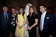 SIR EVELYN DE ROTHSCHILD; MARK SHAND;  PRIA VANDREVELA; SARAH DUCHESS OF YORK;  CYRUS VANDREVALA;  The launch party for Elephant Parade hosted at the house of  Jan Mol. Covent Garden. London. 23 June 2009.
