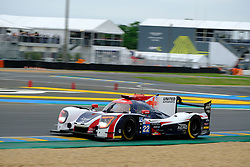 June 15, 2018 - Le Mans, Sarthe, France - United Autosports LIGIER JSP217 Gibson Driver PAUL DI RESTA (GBR) in action during the 86th edition of the 24 hours of Le Mans 2nd round of the FIA World Endurance Championship at the Sarthe circuit at Le Mans - France (Credit Image: © Pierre Stevenin via ZUMA Wire)