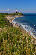 The Montauk Point Light is a lighthouse located adjacent to Montauk Point State Park, at the easternmost point of Long Island, Montauk, NY